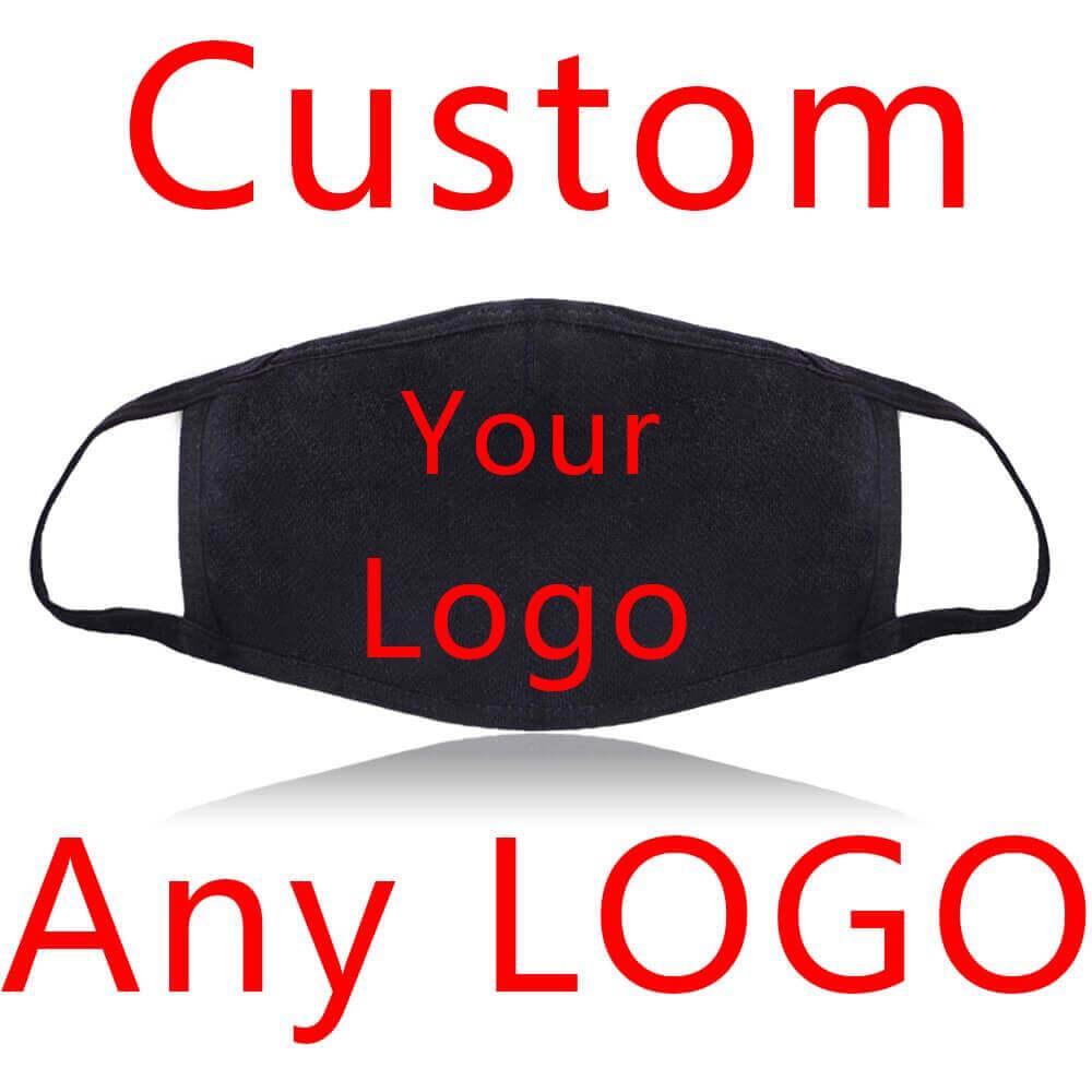 Personaliza tu Mascarilla, protegete de bacterias, humo, polvo y enfermedades. Mascarilla de algodón reutilizable, custom your logo