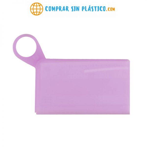 Caja SILICONA guarda Mascarilla sostenible ecológico lavable criptomoneda mascarilla