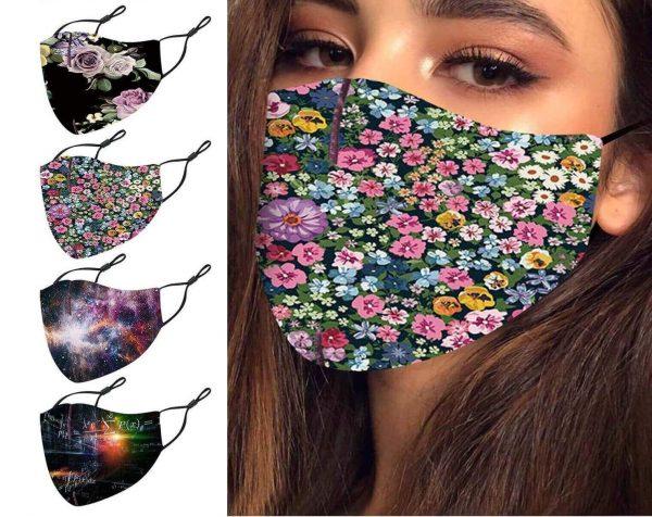 Mascarillas Diseño COLORES Estampados originales y para proteger la salud tuya y la de los demás. Comprar sin plástico mascarillas