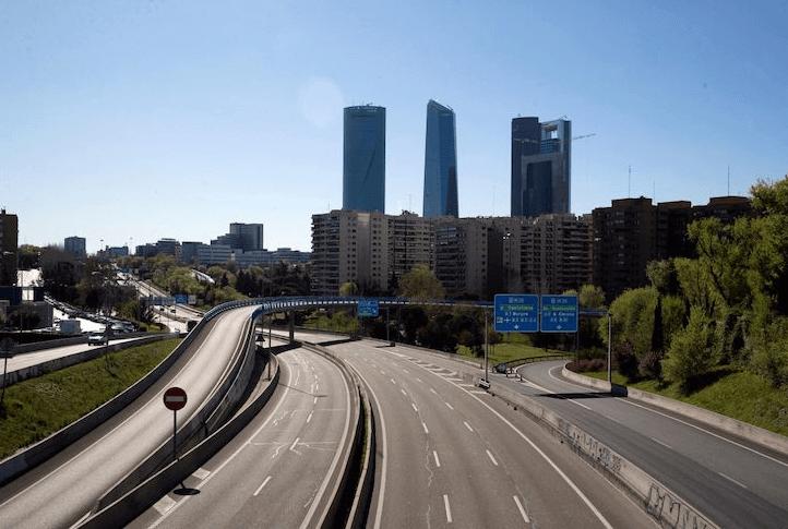 Aire Más y Mejor ciudad desierta carreteras vacias aire limpio comprarsinplastico comprar sin plastico eco
