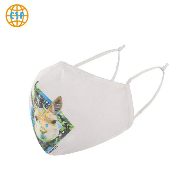 Mascarilla Deportiva Diseño Animales. Facemask. Tapabocas. Ecológico y sostenible. Protección para contaminación. comprar sin plastico conejo