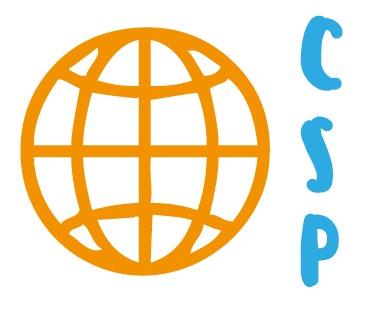 Logo exterior de www.ComprarSinPlastico.com modesto proyecto con productos ecológicos sostenibles y materias primas naturales. BTC, LTC comprar sin plástico logocsp