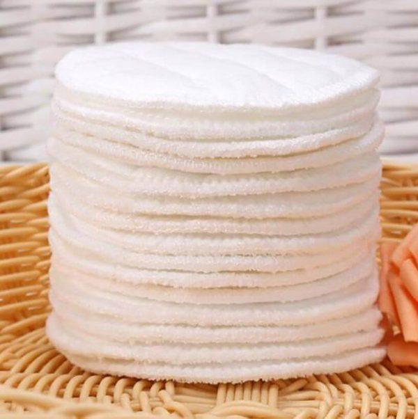 Almohadilla de ALGODÓN Limpiador facial desmaquillante lavable, natural, ecológico, sostenible y reutilizable. original