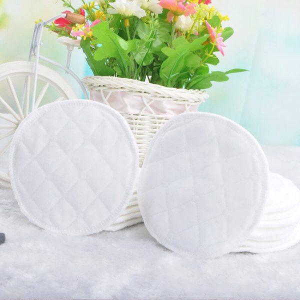 Almohadilla de ALGODÓN Limpiador facial Disco desmaquillante lavable, natural, ecológico, sostenible y reutilizable; ejemplo