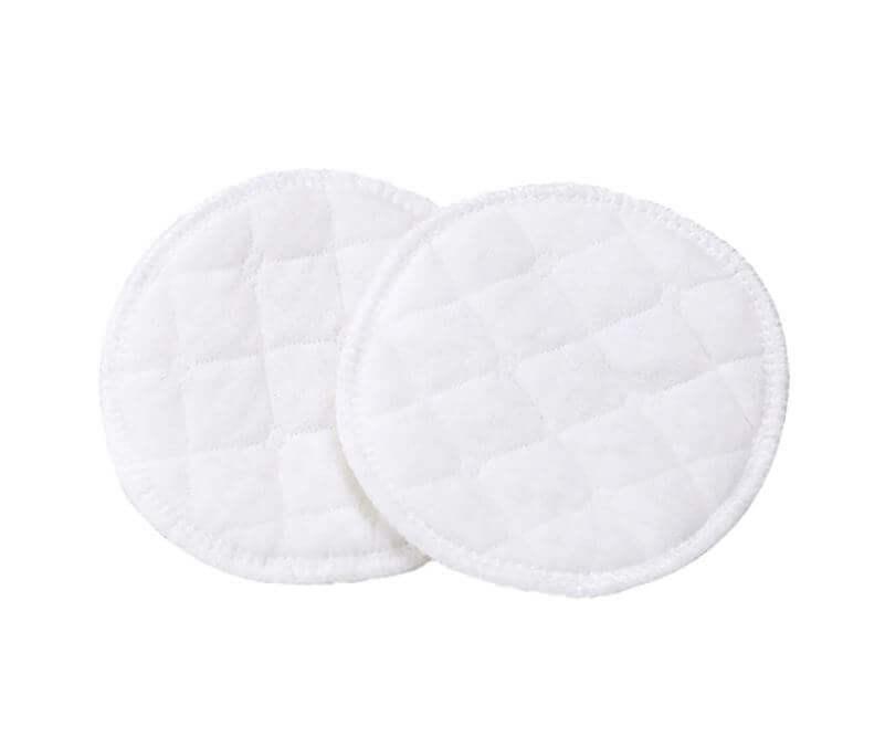 Almohadilla de ALGODÓN Limpiador facial Disco desmaquillante lavable, natural, ecológico, sostenible y reutilizable; son 10 toallitas