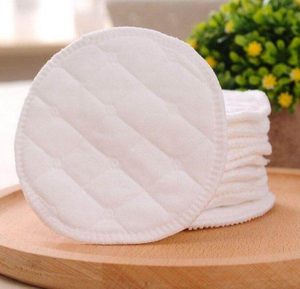Almohadilla de ALGODÓN Limpiador facial desmaquillante lavable, natural, ecológico, sostenible y reutilizable; discos