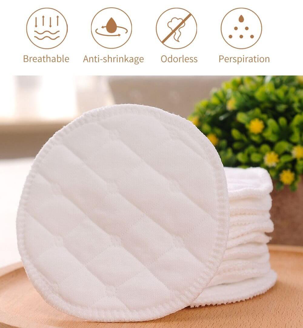 Almohadilla de ALGODÓN Limpiador facial Disco desmaquillante lavable, natural, ecológico, sostenible y reutilizable; eco