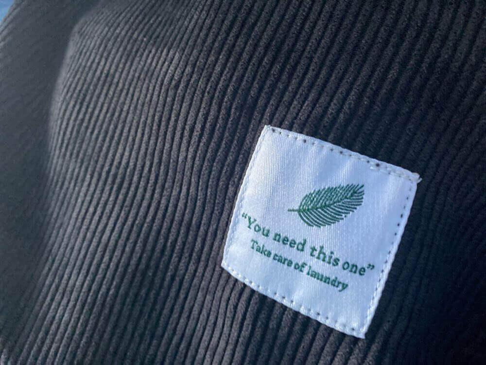 Bolso de Pana Bandolera de Tela, producto sin plástico, comprar sin plástico. Ecológico, sostenible, natural y biodegradable.