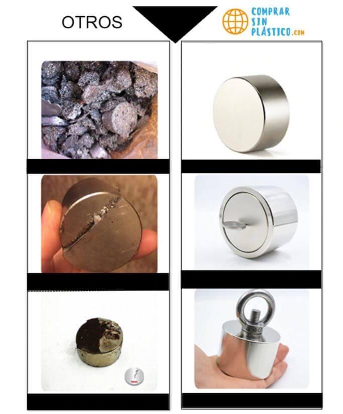 Imán Redondo de Neodimio Potente tierras raras metal precioso. ComprarSinPlastico. Comprar Sin Plástico. Productos ecológicos, sostenibles, naturales y reciclables.