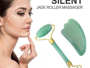 Rodillo Belleza Piedra de Jade sin plástico, comprar sin plástico, ecológico, sostenible, y saludable. Piedras preciosas