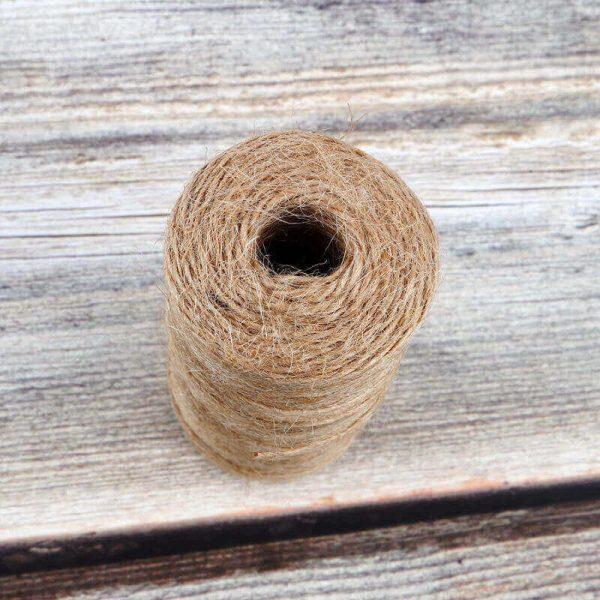 Cuerda Natural de Cáñamo Artesanal 1 rollo de-cuerda-de-cañamo-Natural-de 50 100m yute decoracion-del hogar (12)