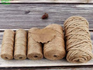 Cuerda Natural de Cáñamo Artesanal 1 rollo de cuerda de cáñamo Natural de 50 100m yute-decoracion del hogar (13)