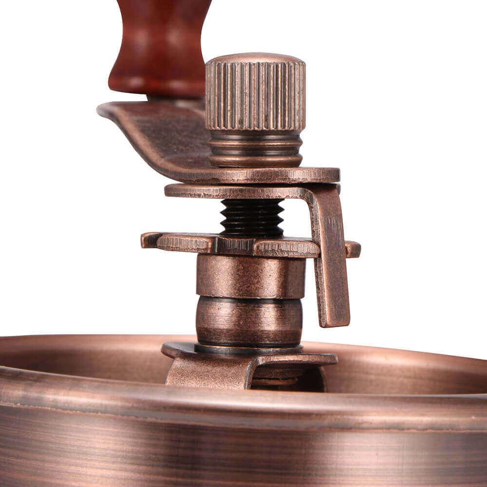 Molinillo de Café Manual Clásico, forma delicada para el café manual Metal y Madera. Comprar Sin Plástico. café Sostenible y ecológico. metálico