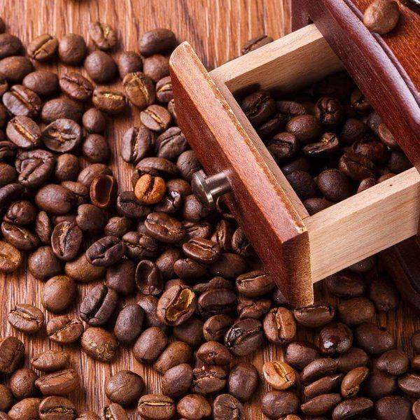Molinillo de Café Manual Clásico, forma delicada para el café manual Metal y Madera. Comprar Sin Plástico. café Sostenible y ecológico. el café se muele
