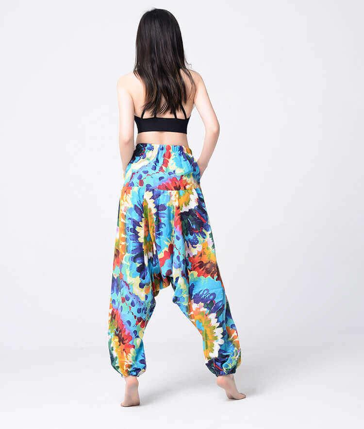 Pantalón ALGODON Unisex Bombacho Ancho, Sin Plástico. Prenda para vestir en verano. Ecológico, sostenible y natural. Comprar Sin Plástico (100)