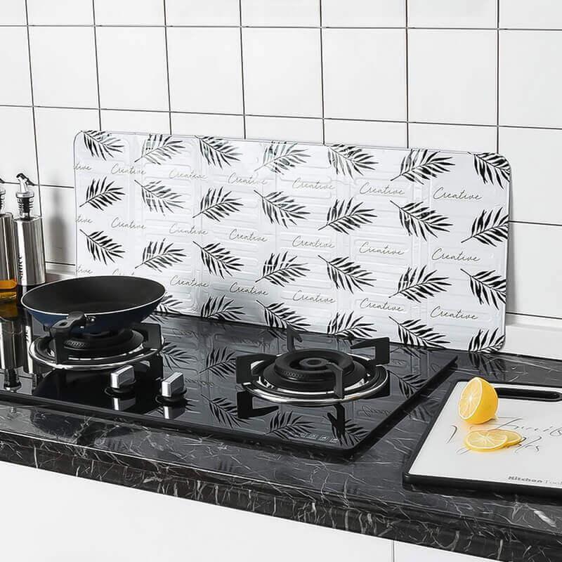 Pantalla Aluminio para Cocina, protector y reflector para vitrocerámicas, inducción o cocinas a gas. Ecológico, sostenible, de metal. Comprar sin plástico